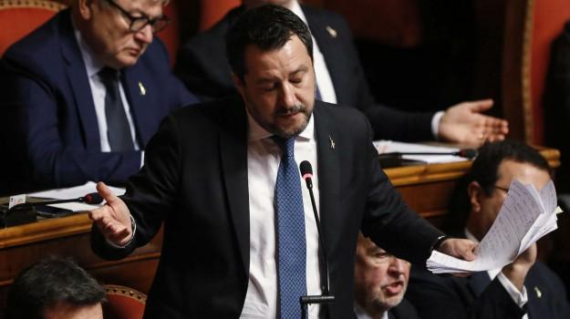 immigrazione, processo, senato, Matteo Salvini, Sicilia, Politica