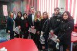 Messina, i ragazzi dell'Istituto Piria di Rosarno in visita allo stabilimento Ses