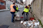 Messina, il comitato disoccupati organizzati ripulisce il perimetro del Museo regionale