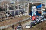 Treno deragliato in Lombardia, fiaccolata a Cologno per ricordare Giuseppe Cicciù