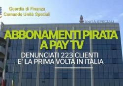 Abbonamenti pirata a pay tv, cosa rischiano gli abbonati pirata 223 le denunce, la prima volta in Italia - Ansa