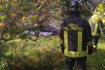 Aereo precipitato nel Siracusano, le foto dopo la tragedia