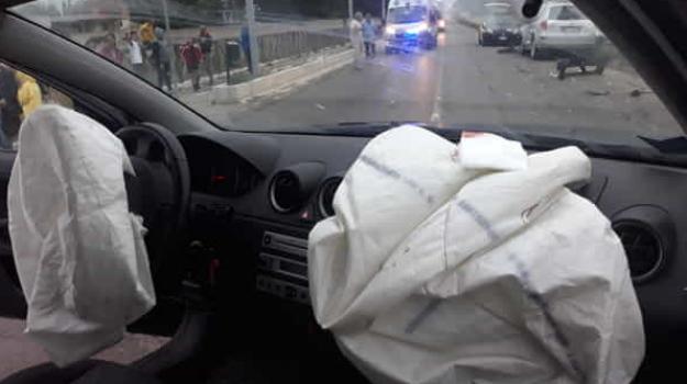 airbag, incidente mortale, neonato, Sicilia, Cronaca