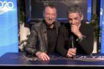"""Amadeus-Fiorello, debutta in tv la strana coppia del Festival: gag e satira a """"Che tempo che fa"""""""