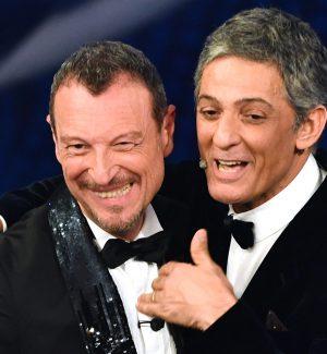 Amadeus e Fiorello saranno in coppia anche a Sanremo 70+1