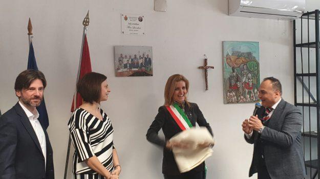 Aula, giornalista, municipio, mino licordari, Messina, Sicilia, Politica