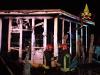 Vasto incendio al lido Blue Beach di Brolo, c'è un sospettato