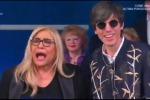 Bugo: «Mi è piaciuta la canzone di Irene Grandi», Mara Venier: «Grandi? Ma non c'era!»