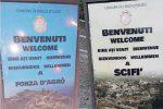 Strafalcioni... linguistici, rimossi due cartelli a Forza d'Agrò