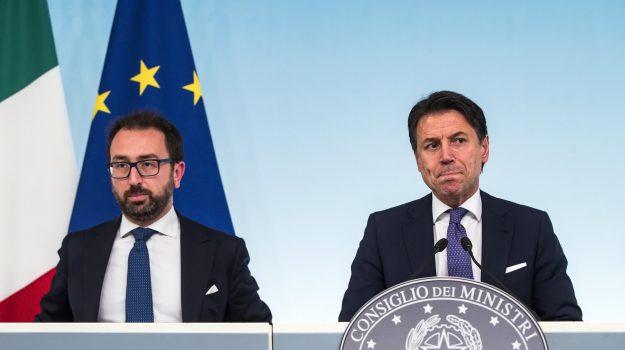 consiglio dei ministri, governo, prescrizione, Giuseppe Conte, Matteo Renzi, Sicilia, Politica