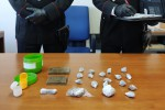 Marijuana, hashish ed eroina nella tracolla: arrestato un 22enne di Cassano