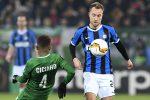 Europa League, Eriksen accende l'Inter: il danese e Lukaku affondano il Ludogorets