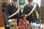 Furto di profumi e generi alimentari a Catanzaro, denunciati in quattro