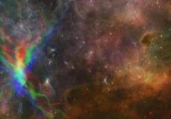 Genesi: la quarta «giornata» dell'Universo Il momento nel quale il buio viene squarciato dalla luce, nell'Universo, avviene 380 mila anni dopo il Big bang: ecco come - Corriere Tv