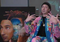 Ghali e il suo nuovo album «Dna»: le immagini della festa di lancio Il rapper torna con il secondo disco: ecco il party con cui è stato lanciato - Corriere Tv