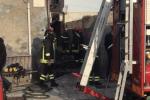 Casa in fiamme a Nizza di Sicilia, due anziane sorelle morte carbonizzate