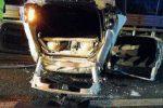 Auto ribaltata sull'A2 tra Rende e Cosenza, morto uno degli occupanti