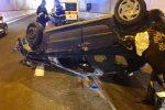 Incidente tra Borgia e Squillace: auto con 9 persone a bordo si ribalta, due feriti gravi