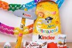 Kinder, festa al Carnevale di Viareggio