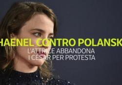 Polemica ai César: premiato Polanski, Adele Haenel abbandona la sala Il gesto di protesta contro il premio per la miglior regia a Roman Polanski - CorriereTV