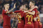 La Roma ritrova il sorriso e la vittoria, quattro gol al Lecce