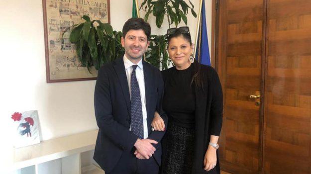 incontro, ministro, salute, Jole Santelli, Roberto Speranza, Catanzaro, Calabria, Politica