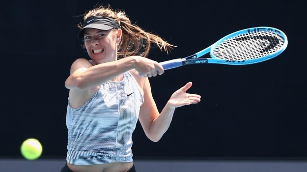 tennis, Maria Sharapova, Sicilia, Sport