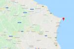 Terremoto al largo di Cirò Marina, registrata una scossa di magnitudo 2.2