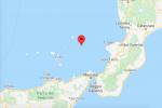Scossa di terremoto tra le Eolie e la Calabria, magnitudo 3.7