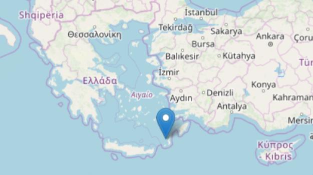 costa, terremoto, turchia, Sicilia, Mondo
