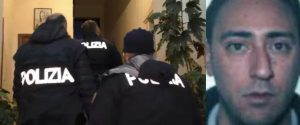 L'irruzione della Polizia per l'arresto di Roberto Presta