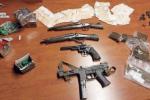 Mini-arsenale e droga in un casolare di S.Lucia sopra Contesse, arrestato