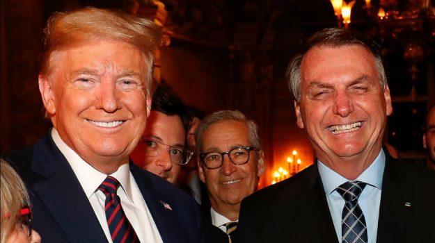 brasile, coronavirus, Donald Trump, Jair Bolsonaro, Sicilia, Mondo