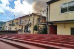 Incendio in una casa popolare di Dasà, distrutto il secondo piano: nessun ferito