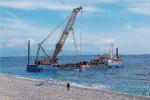 Erosione costiera, a Letojanni si lavora per le barriere