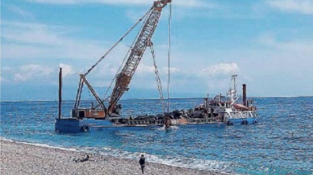 erosione costiera, letojanni, Messina, Sicilia, Cronaca