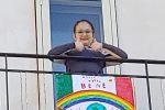 """""""Andrà tutto bene"""", arcobaleni e colori contro il Coronavirus: i nuovi disegni da Messina"""