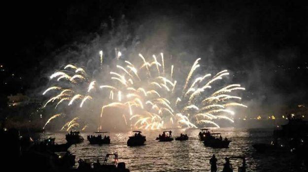 lipari, processione san bartolomeo, Messina, Sicilia, Cronaca