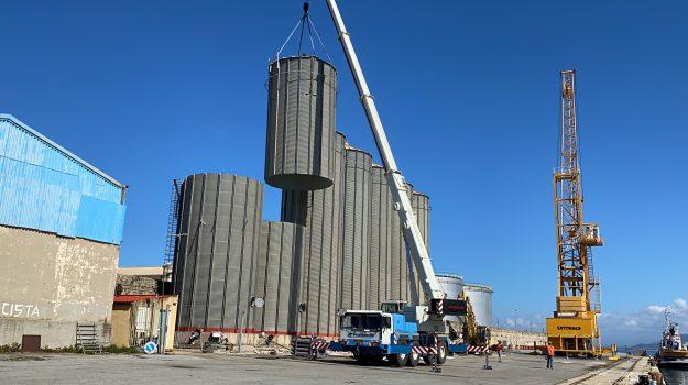 demolizione silos, porto vibo, Catanzaro, Calabria, Economia