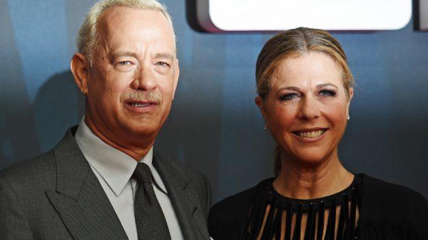 coronavirus, hollywood, Rita Wilson, Tom Hanks, Sicilia, Mondo