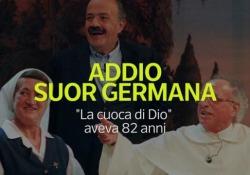 Addio Suor Germana: «la cuoca di Dio» era diventata famosa in tv «La cuoca di Dio» aveva 82 anni - Ansa