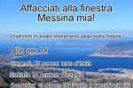 #affacciatialle18, così Messina ha risposto all'appello lanciato in tutta Italia