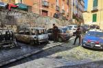 Cosenza, incendiate tre auto nella notte: denunciati tre giovani