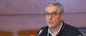 Il capo della Protezione Civile, Angelo Borrelli
