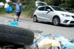 Abbandono rifiuti ad Acri e Bisignano, carabinieri identificano i trasgressori