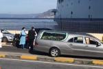 Controlli al porto di Messina per il coronavirus, bloccato anche un carro funebre