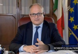 """Coronavirus, Gualtieri: «Scadenze fiscali rimandate fino a venerdì per tutti» Il ministro dell'economia a """"Che tempo che fa"""" su Rai2 - Ansa"""