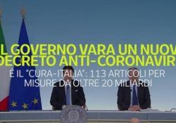Coronavirus, Mattarella firma il decreto «Cura Italia»: ecco tutte le misure Fondo per Alitalia e rinvio del referendum sul taglio dei parlamentari - Ansa