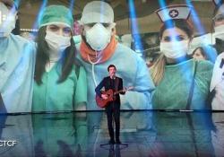 Diodato dedica «La cura» di Franco Battiato all'Italia Il vincitore di Sanremo ospite a «Che tempo che fa» - Corriere Tv