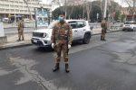 Emergenza Coronavirus, a Messina arriva l'Esercito a controllare le strade